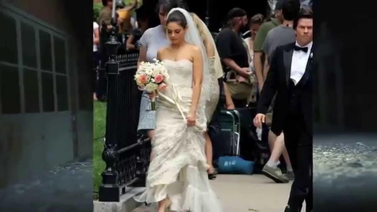Macaulay Culkin And Mila Kunis Wedding Wedding Dresses Petite Wedding Dress Wedding Gowns