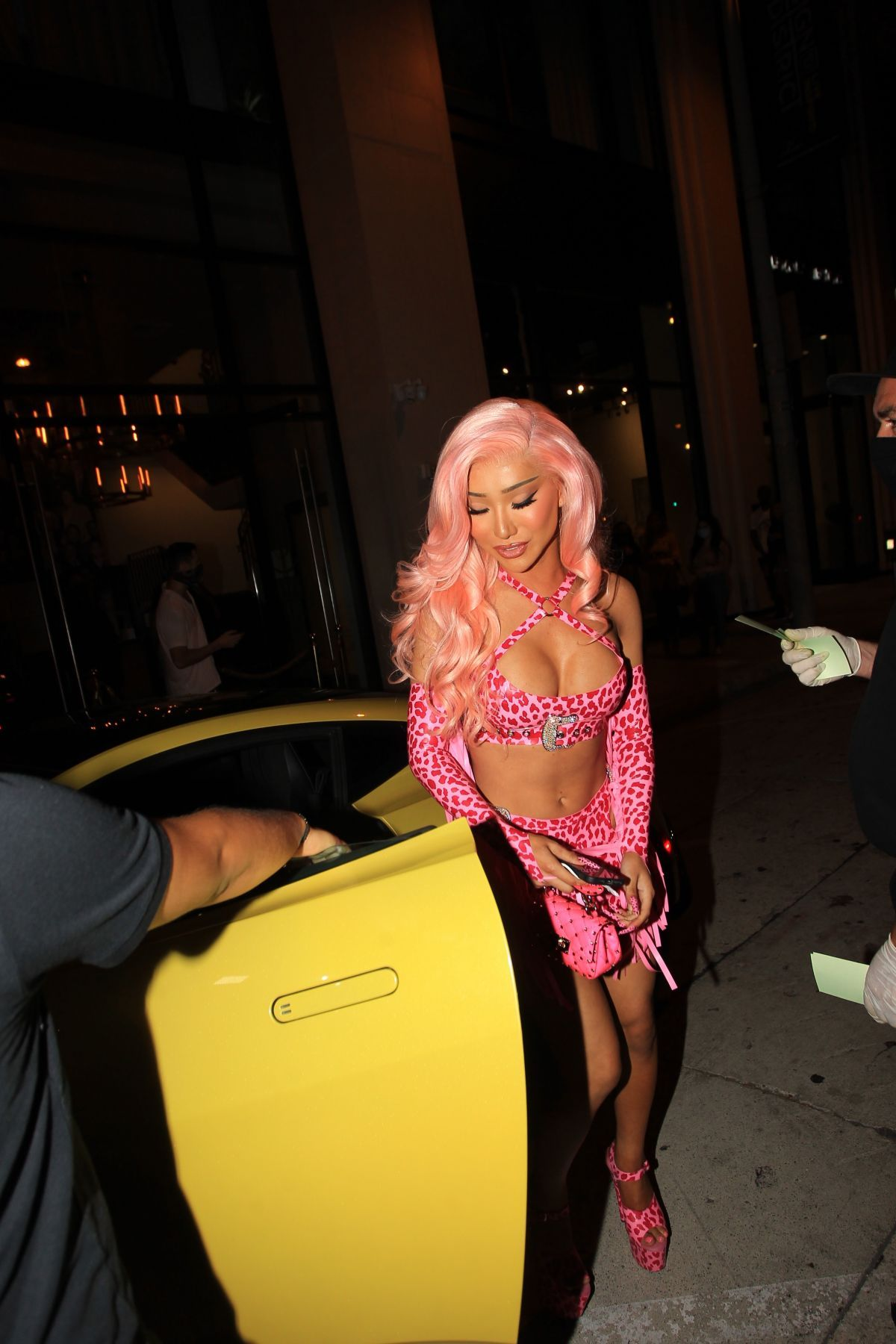 NIKITA DRAGUN at Catch LA in West Hollywood 08/26/