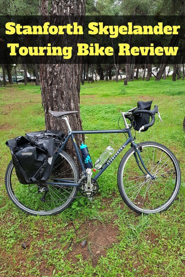 Steel Touring Bike Review Stanforth Skyelander 700c Touring Bicycle Touring Bike Touring Bike Touring Gear
