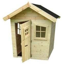 Cabane en bois pour enfant FUNNY PARK - brand - 399€