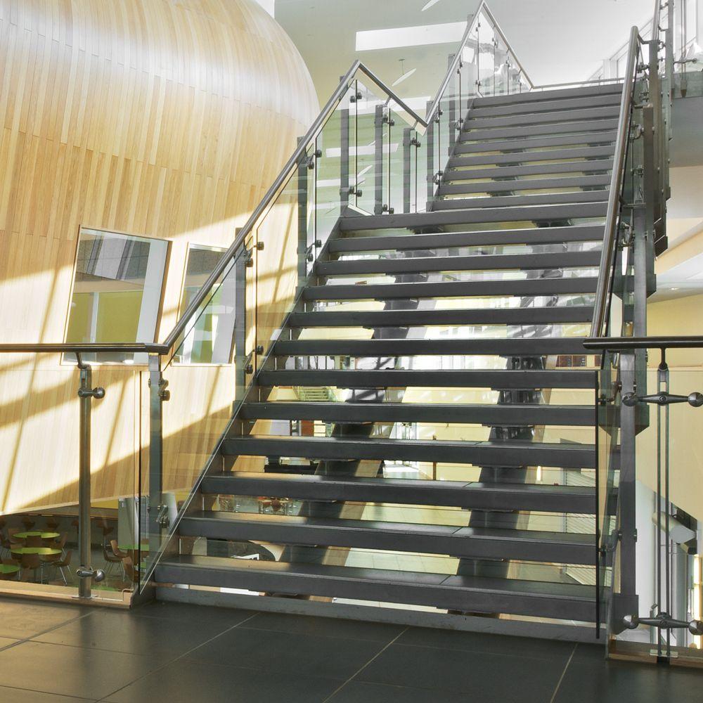 Suffolk One Sixth Form College, Ipswich, UK - Q-RAILING UK Tel. +44 (0) 800  7814 245 sales@q-railing.co.uk | Q-Projects | Pinterest