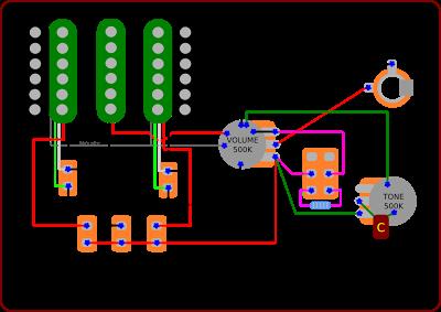 ibanez rg wiring diagram 4 circle venn template free for you the guitar blog diagrams and tips custom rh pinterest com 320 350