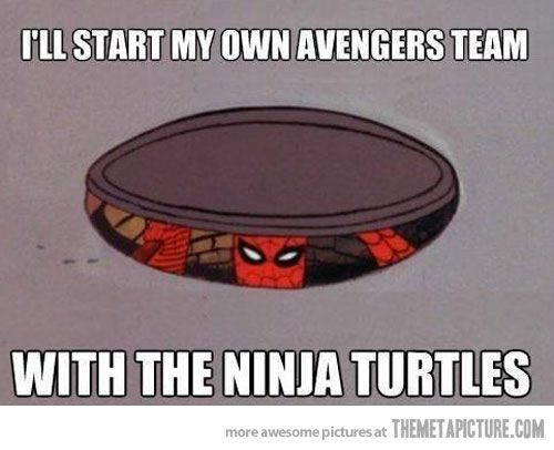 Spidey has a plan…