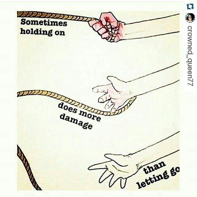 Sometimes Holding In Does More Damage Than Letting Go Beautiful