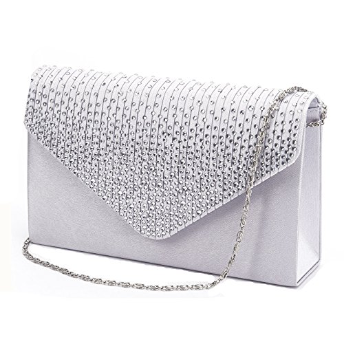 New Evening Ladies Classic Patent Leather Envelope Style Occasion Clutch