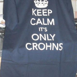 Keep Calm It's Only Crohns! | Crohns, Crohns awareness ...