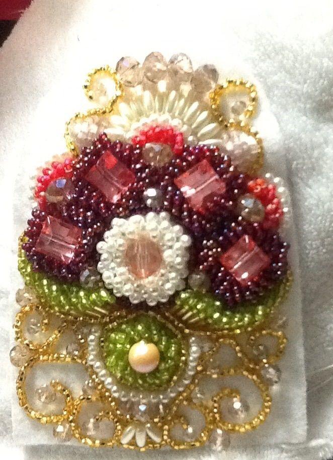 Beadwork by erin davis raised beadwork idea