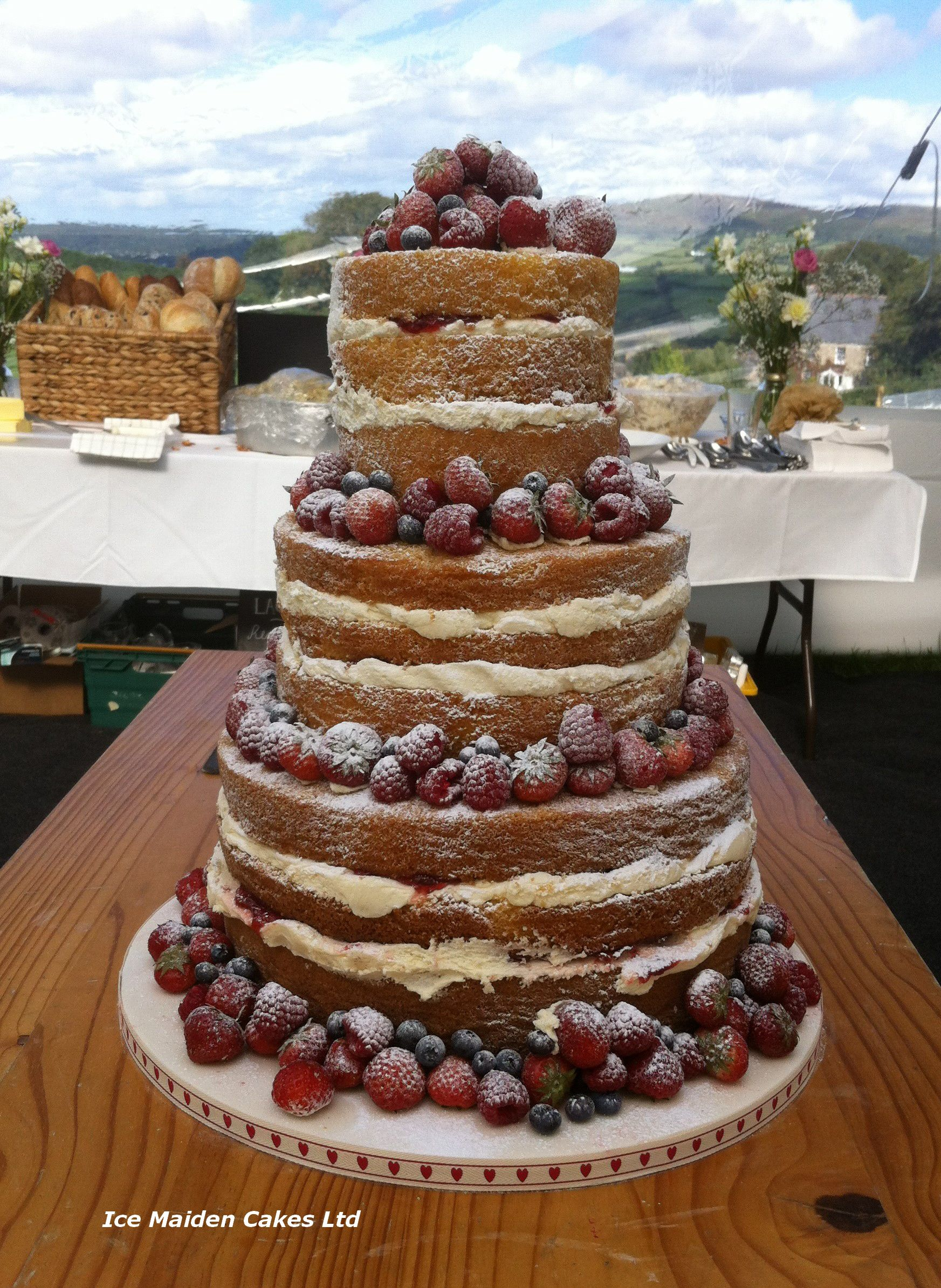 Pin By Julie Gibson On Naked Wedding Cakes Pinterest Cake