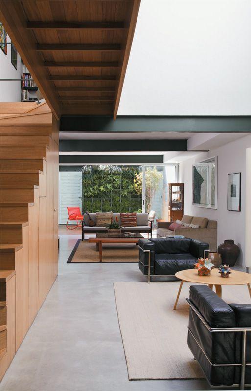 Sobrado Pequeno, Mas Cheio De Luz, Com Gramado Na Cobertura. LoftSmall  HousesSweetInterior Design GalleryModern ...