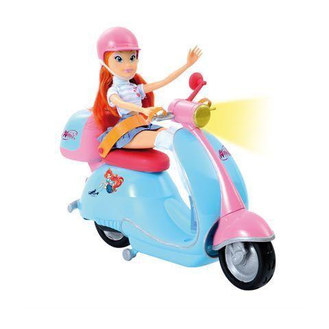 Promo Smoby Bloom Et Son Scooter Winx Moinschers Net Poupee Jeu Jouet Poupees Mannequins