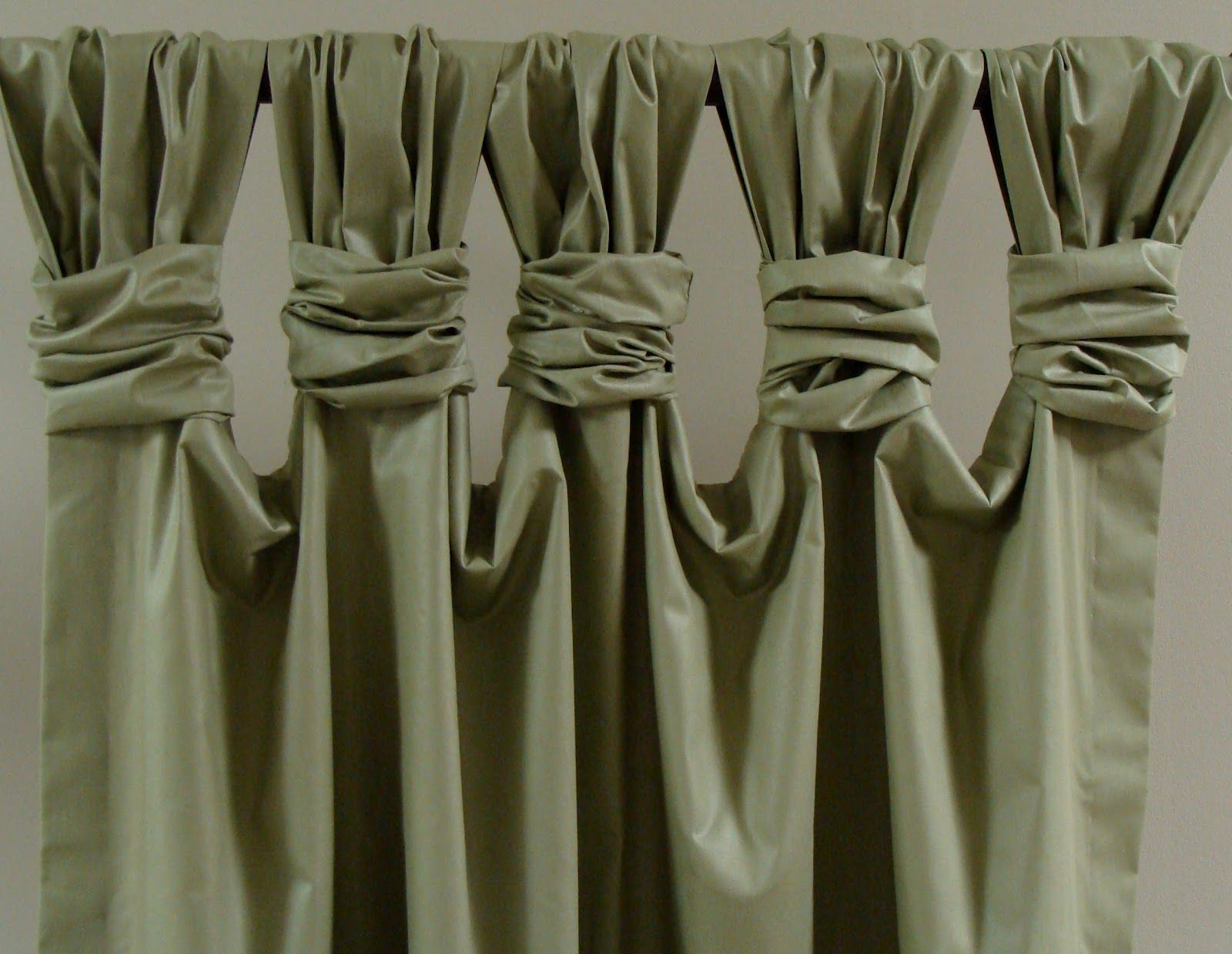 Gathered curtains - Interior Design Rowley Company Blog