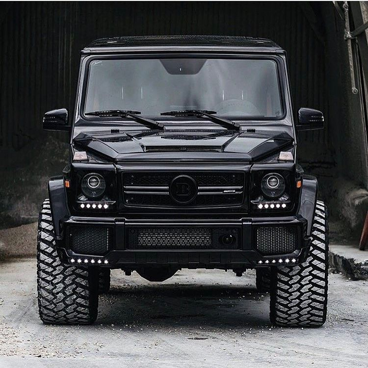 Brabus mercedes benz g63 amg killer rides pinterest for Mercedes benz 4x4 g class