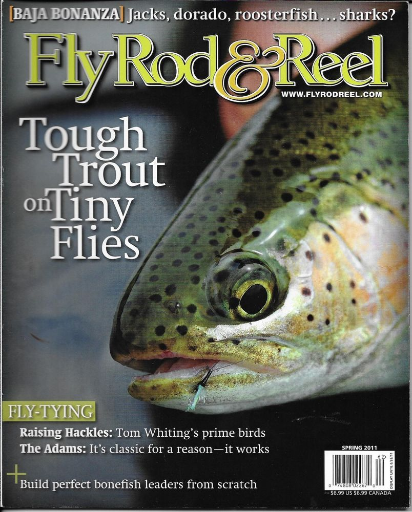 Fly Rod and Reel fishing magazine Tough trout on tiny