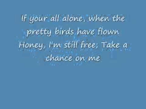 Abba Mamma Mia Take A Chance On Me Lyrics Youtube Me Too