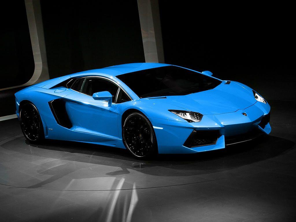 Blue Lamborghini Wallpaper Hd Resolution
