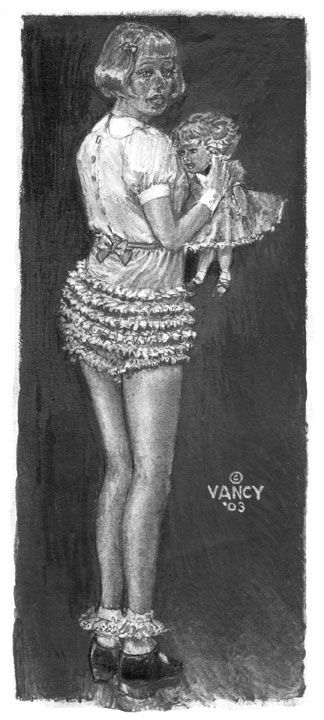 """I Get All Of My Vancy Art For """"Carole Jean's Petticoat"""