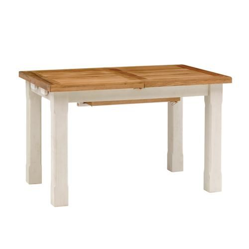 Marseille Distressed 120cm-180cm Extending Dining Table Dining