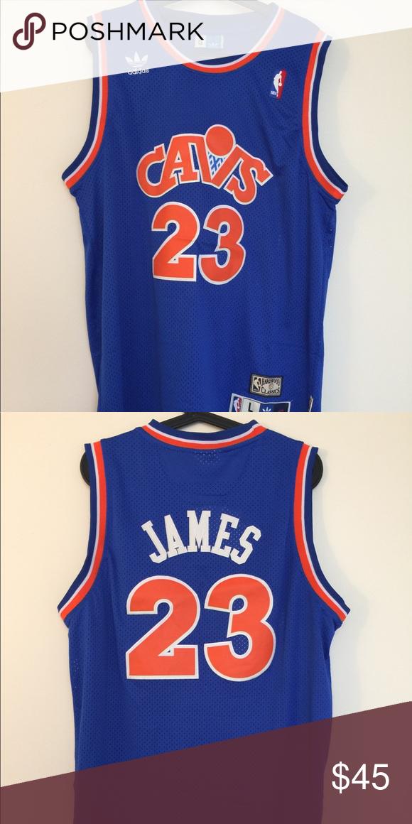outlet store fe10e 401a3 LeBron James #23 Cleveland Cavs HWC Blue Jersey Brand new ...
