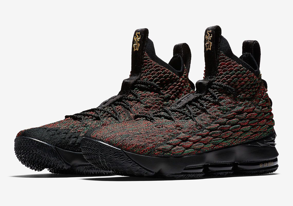 classic fit 5362c eb705 Nike LeBron 15 BHM AA3857-900 Release Date | Sneak out ...