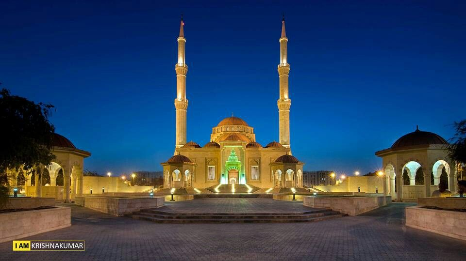 Beautiful Mosque - Oman