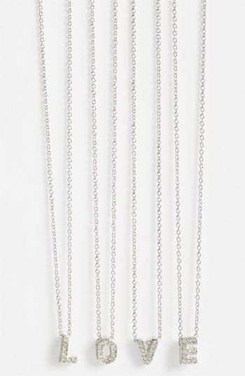 Nadri initial pendant necklace nordstrom valentines day nadri initial pendant necklace nordstrom aloadofball Choice Image