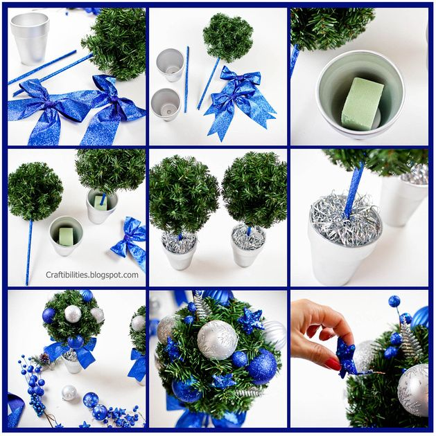 Topiary Ornament Trees