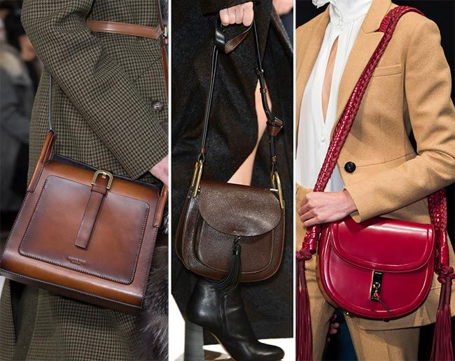26bd48c8cb Fall  Winter 2015-2016 Handbag Trends  Saddle Bags
