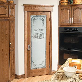 Two Of These In Place Of The Pantry Closet Doors Painted And Aged Pantry Door Corner Pantry Frosted Glass Pantry Door