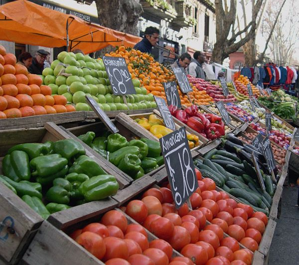 Mercado callejero
