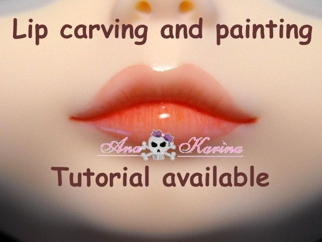 Unique lips painting related items | Etsy