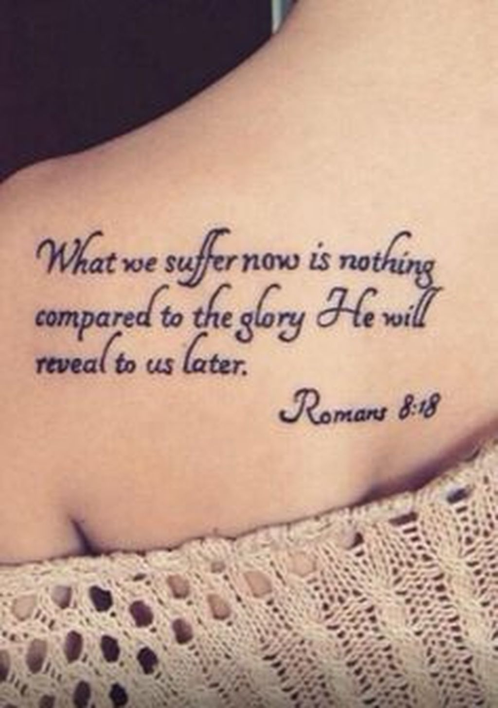 Stunning 30 Adorable Tattoo Ideas For Women Bible Quote Tattoos
