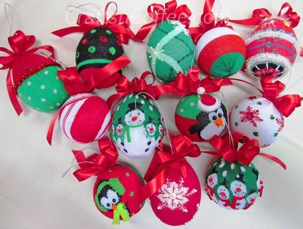 sock ornament Adoro crafts Pinterest Dollar stores, Ornament