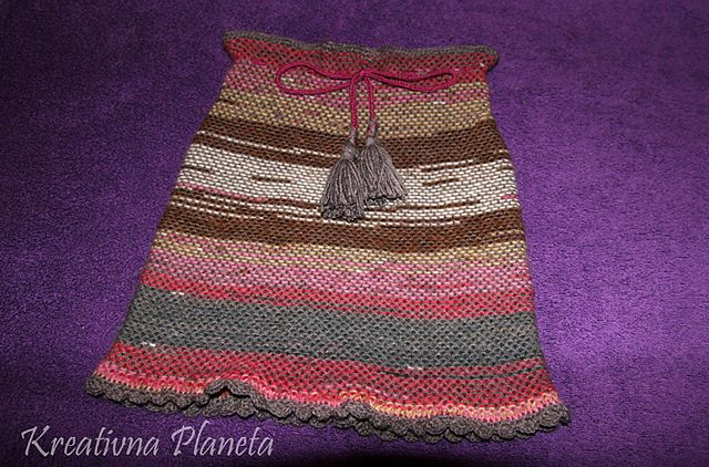 Ravelry: Dunja Skirt pattern by Ljiljana Lili Crnobrnja