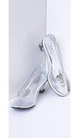 9664615e58c Clear   Silver Glitter Heart Heels