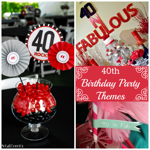The 25 best 40th birthday themes ideas on pinterest for 40th decoration ideas
