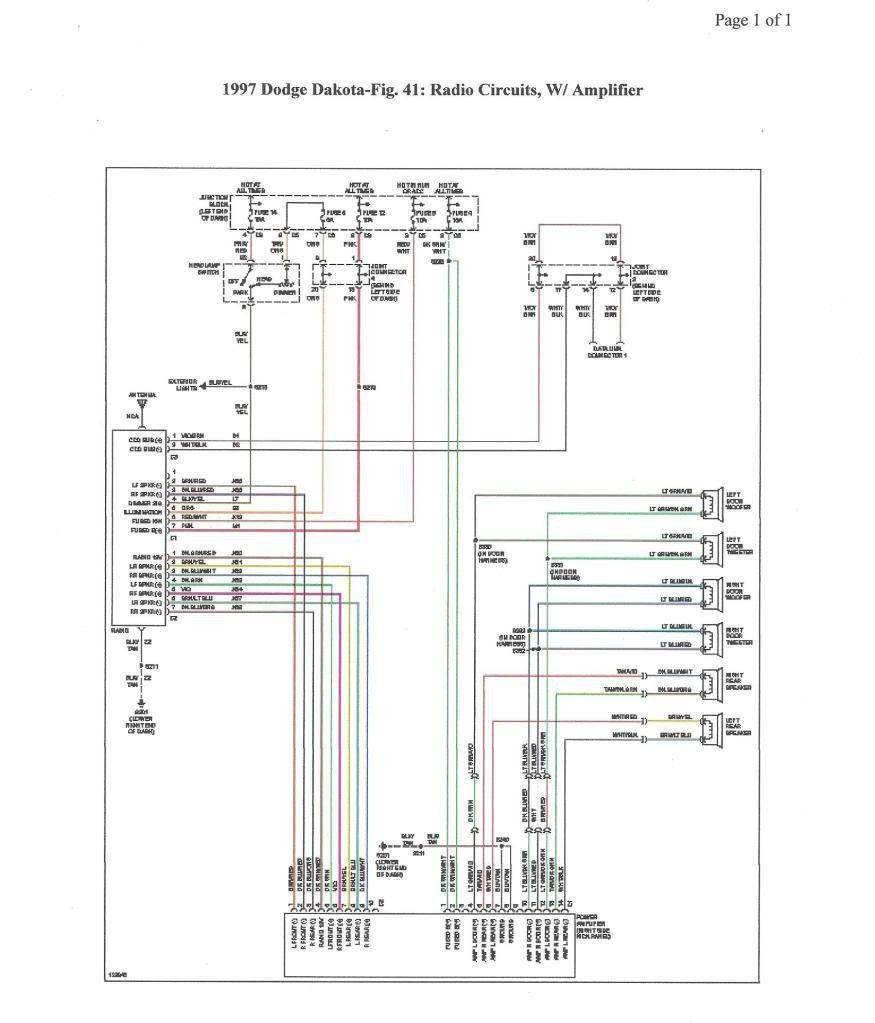 1999 Dodge Durango Wiring Diagram New In 2020 Dodge Dakota Dodge Durango Dodge