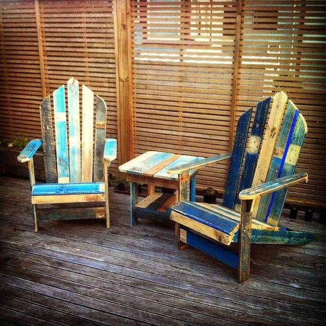 Comment fabriquer un fauteuil en palette pour personnaliser son ...