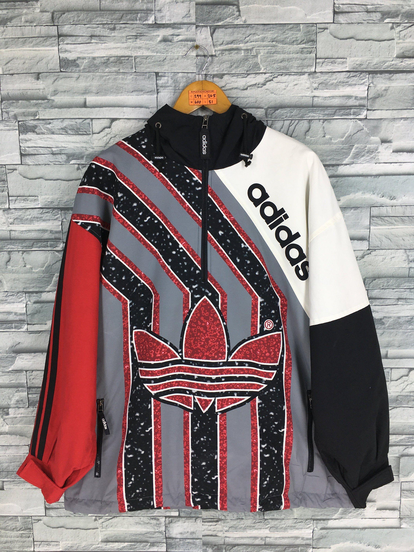 Adidas Originals Hoodie Running Jacket Multicolor