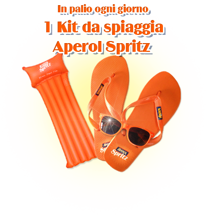 Concorso The Aperol Spritz – Vinci kit spiaggia e 1 week-end