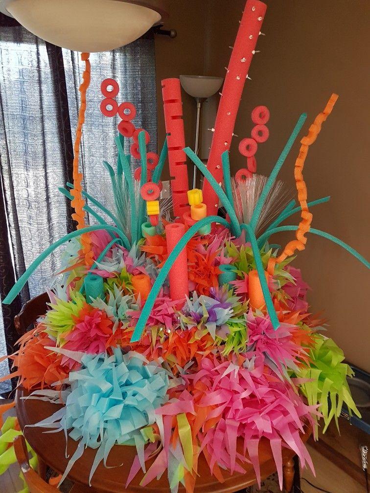 Pool Noodle Coral Reef Pool Party Decorations Mermaid