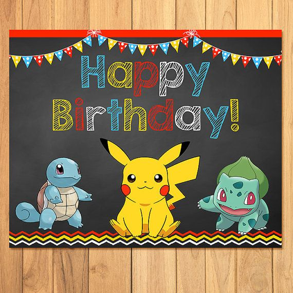 Pokemon Birthday Sign Chalkboard * Pokemon Birthday. Secondary Bone Cancer Signs. Slogan Signs. Road England Signs. Panahon Tv Signs. Olympic Park Signs. Used Marketing Signs. Average Signs Of Stroke. Cafe Open Signs