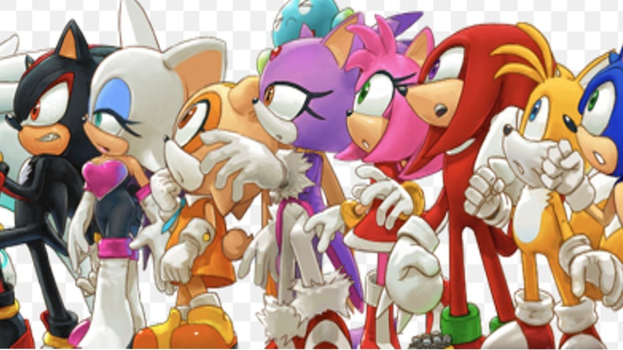 Characters Images Silver Pigstruction: All Sonic Characters