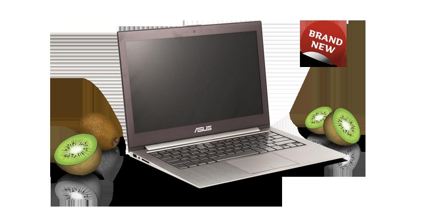 Asus Zenbook Das Extrem-Ultrabook: Super-leicht, dünn, schnell und schön. Mit grossem Studentenrabatt!