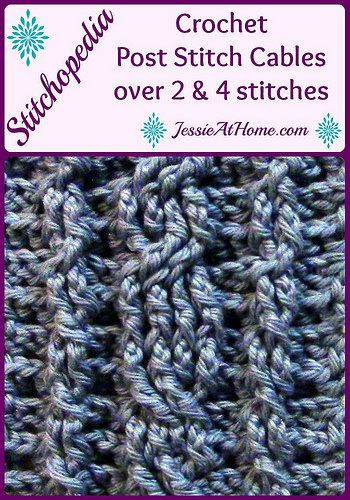 8 Free Crochet Patterns + New Tutorials from Jessie At Home ...