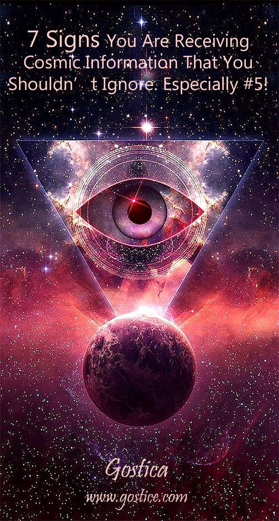 7 Signs You Are Receiving Cosmic Information That You Shouldn T