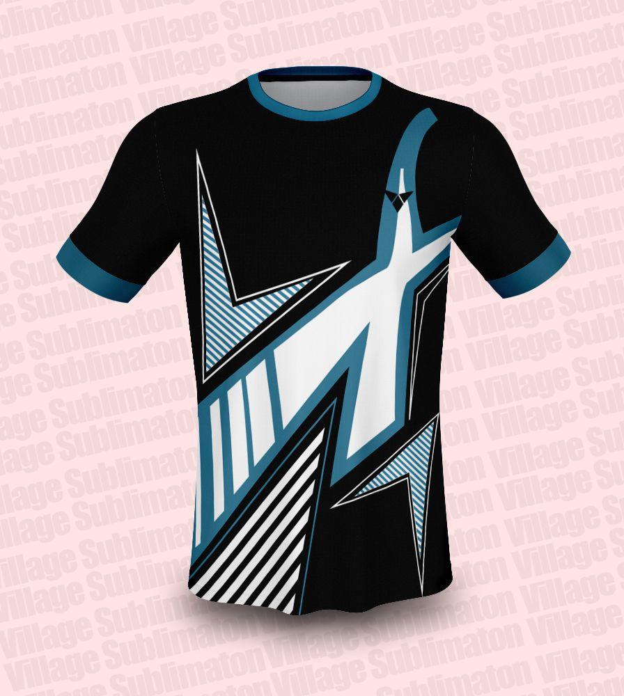 Black blue white volleyball jersey design volleyball