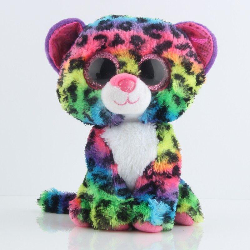 Original Ty Beanie Boos Big Eyes Plush Toy Doll Husky Cat Owl Unicorn TY  Baby Kids Gift 10-15 cm WJ159 8caa50bb451d