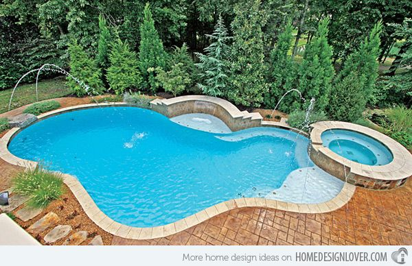 15 Remarkable Free Form Pool Designs