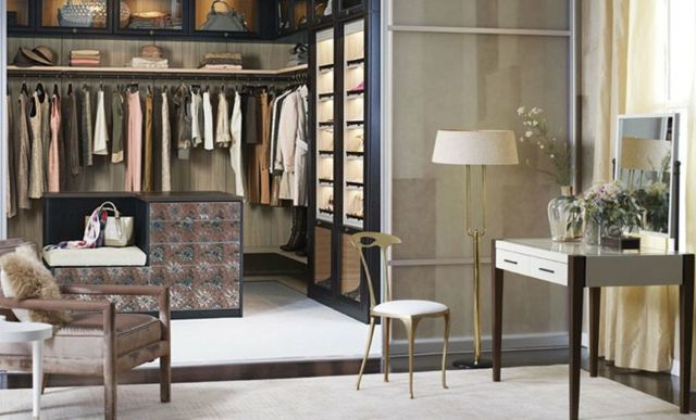 Begehbarer Kleiderschrank selber bauen \u2013 50 Schlafzimmer mit - kleiderschrank schiebeturen stauraumwunder