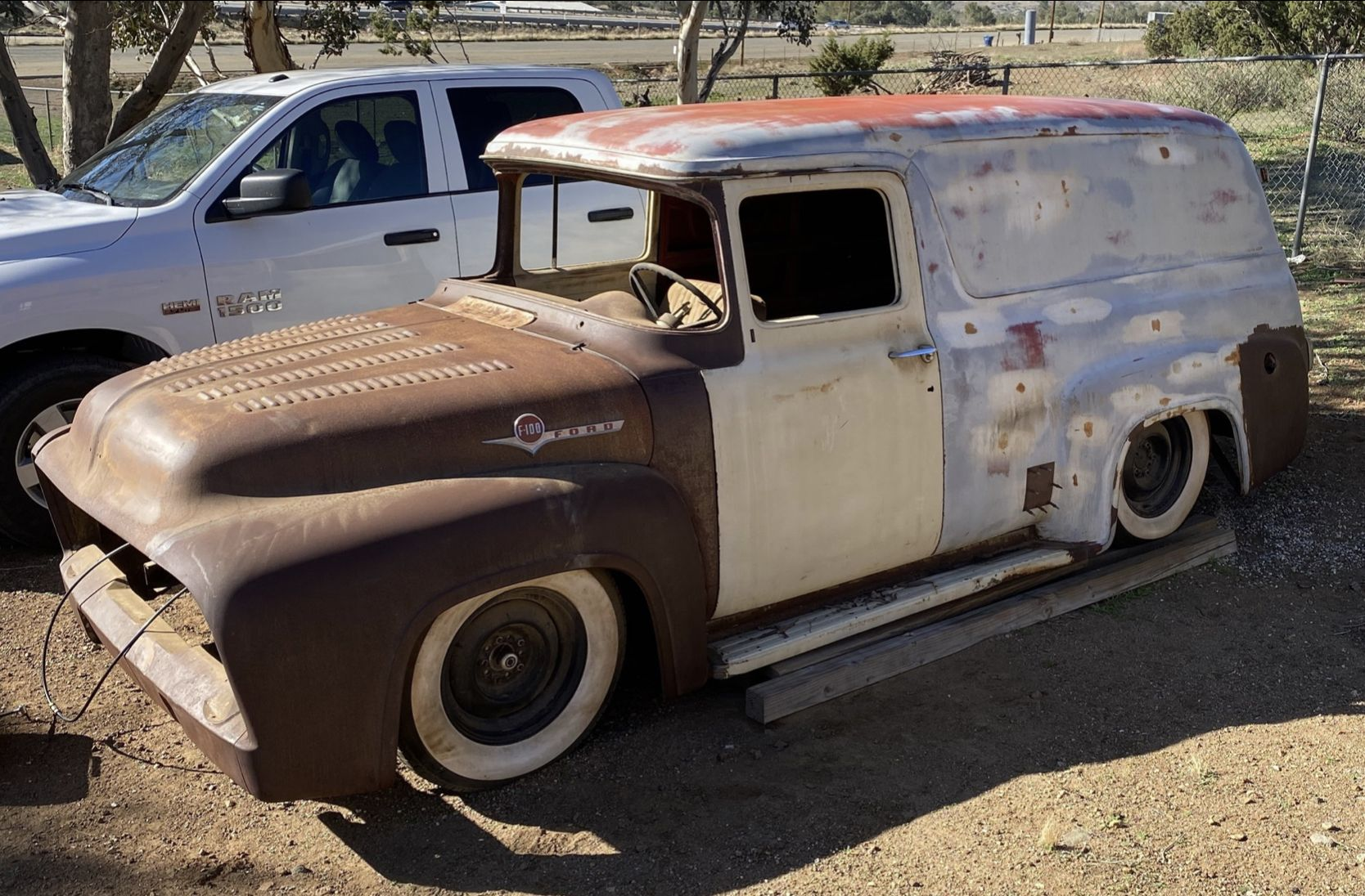 Pin By David Wall On 56 Ford Truck In 2020 56 Ford Truck Vintage Trucks Panel Truck